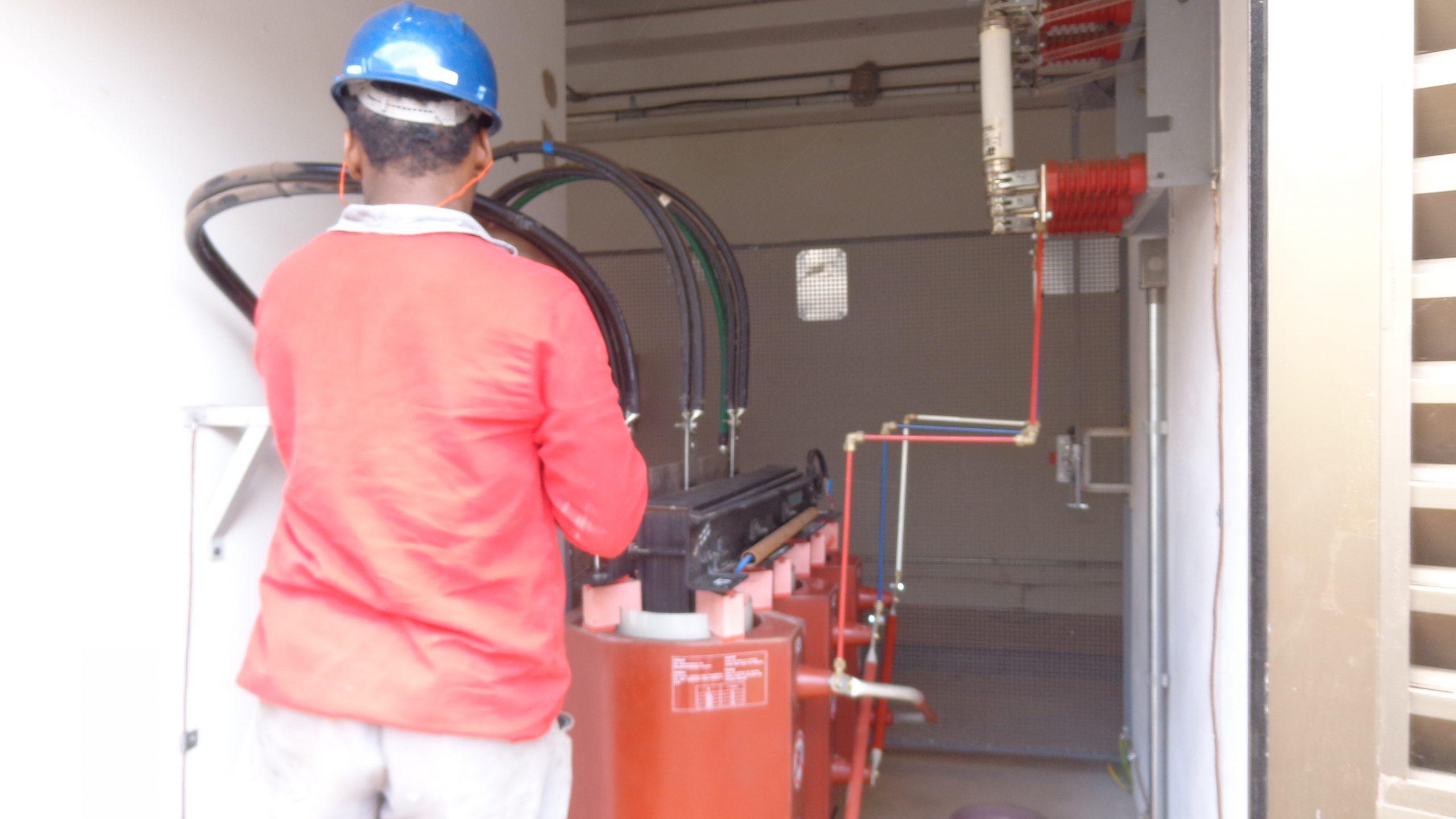 Manutenção de Cabines Elétricas
