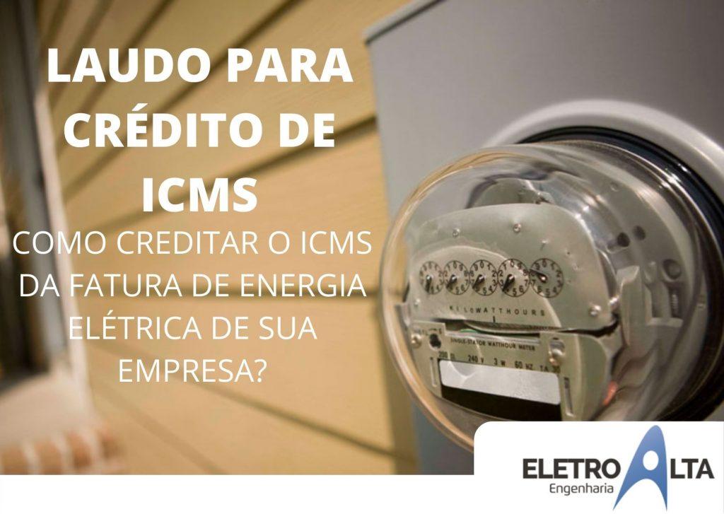LAUDO PARA CRÉDITO DE ICMS (1)
